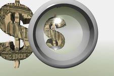 Free Dollar Symbol Royalty Free Stock Photography - 1056637