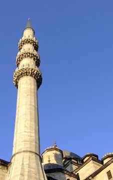 Free Minaret On A Mosque Royalty Free Stock Photo - 1056725