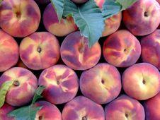 Pile Of Peaches Stock Photos