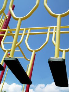 Free Catchy Colors At The Playground Royalty Free Stock Photos - 1058128