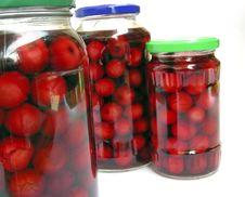 Free Sweet Cherry-trees Royalty Free Stock Photos - 1058718