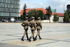 Free Changing Guards Stock Photography - 1058932