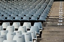 Free Stadium Seating. Royalty Free Stock Image - 1058966
