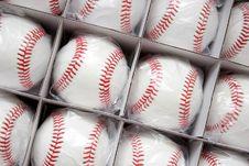 Baseballs Stock Photos