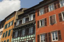 Free Houses In Alsace Stock Image - 1059421