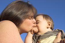 Free Mother And Son Stock Photography - 1059432