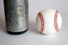 Free Baseball And Bat Stock Photography - 1059782