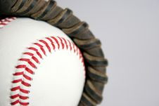 Free Baseball And Glove Royalty Free Stock Photo - 1059795
