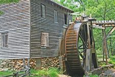 Free Grist Mill2 Royalty Free Stock Photo - 1059865