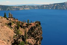 Free Crater Lake Cliff Stock Photos - 1059983