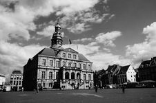 Free Architecture, Black-and-white, Buildings, Castle Royalty Free Stock Photos - 105034138