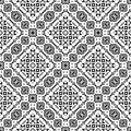 Free Vector BLACK WHITE PATTERN DESIGN GEOMETRIC Royalty Free Stock Photos - 105215978