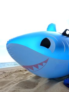 Free Inflatable Shark Stock Image - 10532611