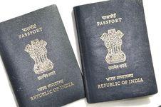 Free Passport Royalty Free Stock Photography - 10544587