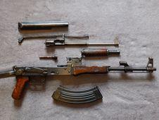 Free Weapon, Gun, Firearm, Assault Rifle Royalty Free Stock Photos - 105540658