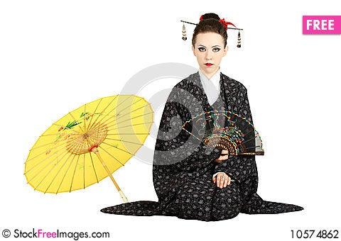 Free Japanese Geisha Stock Photography - 10574862