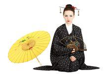 Japanese Geisha Stock Photography