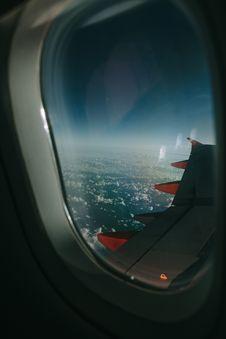Free Grey Airplane Window Royalty Free Stock Image - 105823676