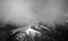 Free Snow Covered Mountain With Mist Stock Image - 105911831
