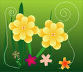 Free Yellow Flowers Royalty Free Stock Images - 1064959
