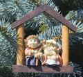Free Holy Family Christmas Tree Ornament Stock Photo - 1067430