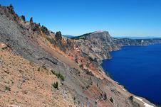 Free Crater Lake Caldera Stock Photos - 1060013