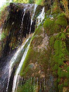 Free Waterfall Detail Stock Image - 1060311