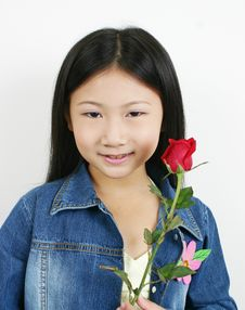 Young Asian Child 008 Stock Images