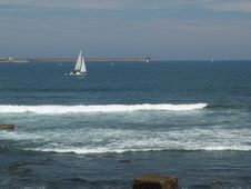 Free Ship On The Sea Stock Images - 1060604