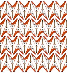 Free Guitar Pattern Royalty Free Stock Photos - 1060658
