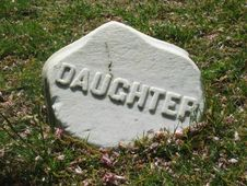 Free Gravestone Daughter Stock Photos - 1061163
