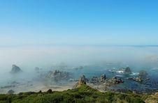 Free Foggy Coast2 Stock Photography - 1061182