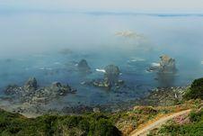 Free Foggy Coast4 Stock Image - 1061241