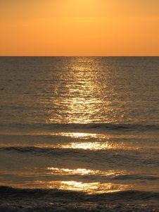 Classical Sunset Scene Stock Photos