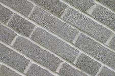 Free Grey Brick Stock Image - 1061741
