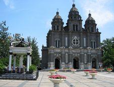 Free Church In China Royalty Free Stock Photo - 1061785