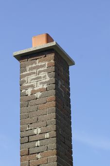 Free Brown Brick Chimney Royalty Free Stock Images - 1062019