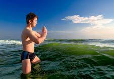 Free Praying-1 Royalty Free Stock Images - 1062529