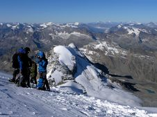 Free Alpine Climbing Royalty Free Stock Photo - 1064215
