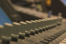 Free Sound Desk Royalty Free Stock Image - 1064626