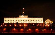 Free Grand Kremlin Palace. Stock Images - 1065584