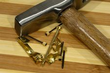 Free Tack Hammer Royalty Free Stock Images - 1066149