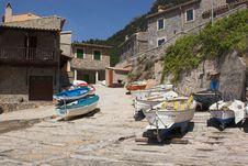 Fishing Village B Stock Photos