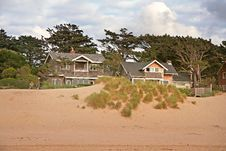 Free House On A Beach Royalty Free Stock Photography - 1067617