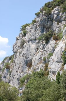 Dry Cliff Stock Photo