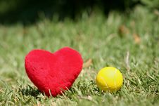 Free I Love Tennis Stock Photo - 1068320