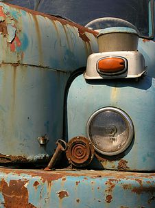 Old Truck Light Stock Images