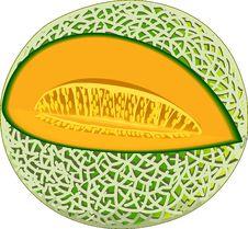 Cantaloupe Stock Image