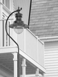 Free Lamp-lite Home Royalty Free Stock Image - 1069906