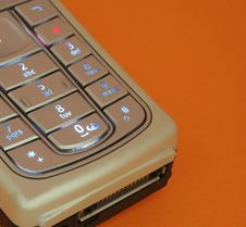 Free Closeup Of Cellular Phone  Keypad Stock Photography - 1069932